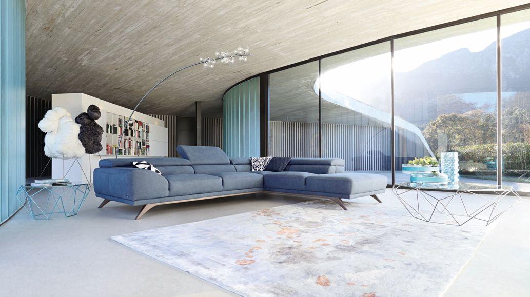 grand canape 3 places azur roche bobois. Black Bedroom Furniture Sets. Home Design Ideas