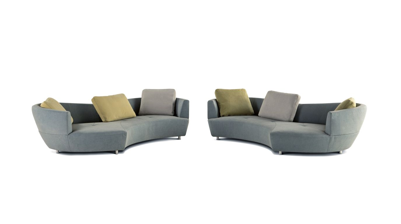 digital grand canap 3 places arrondi roche bobois