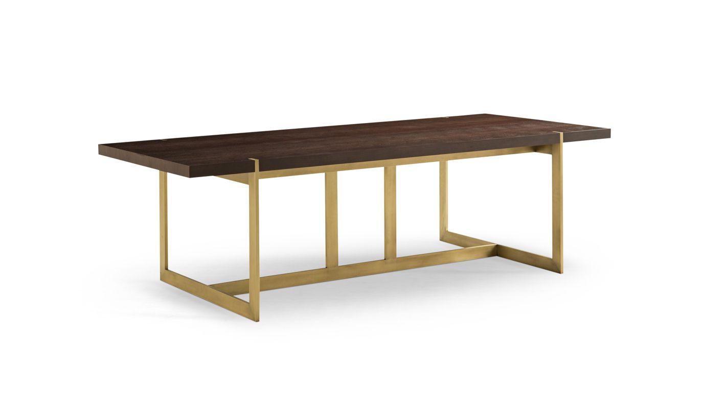 Trocadero dining table nouveaux classiques collection - Table ovale marbre roche bobois ...