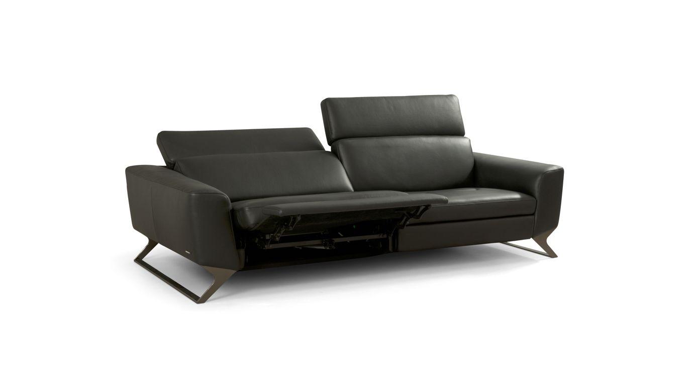 gro es 3 sitzer sofa fr quence roche bobois. Black Bedroom Furniture Sets. Home Design Ideas