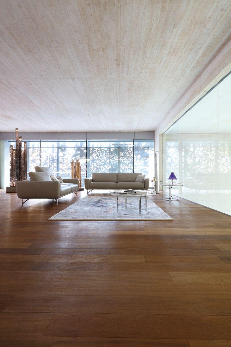salon moderne rochebobois. Black Bedroom Furniture Sets. Home Design Ideas