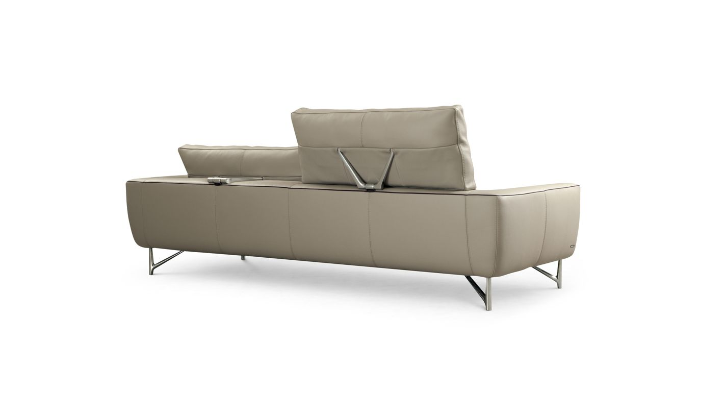 Grand canap 3 places synthesis roche bobois for Canape deux places roche bobois
