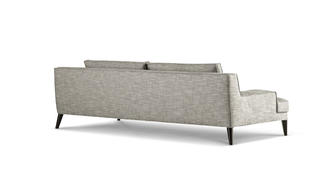 Playlist large 3 seat sofa roche bobois - Canape tissu roche bobois ...