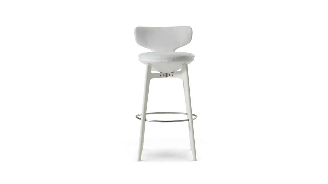 Superb U Turn Large Stool With Back Chairs Stools Benches Beatyapartments Chair Design Images Beatyapartmentscom