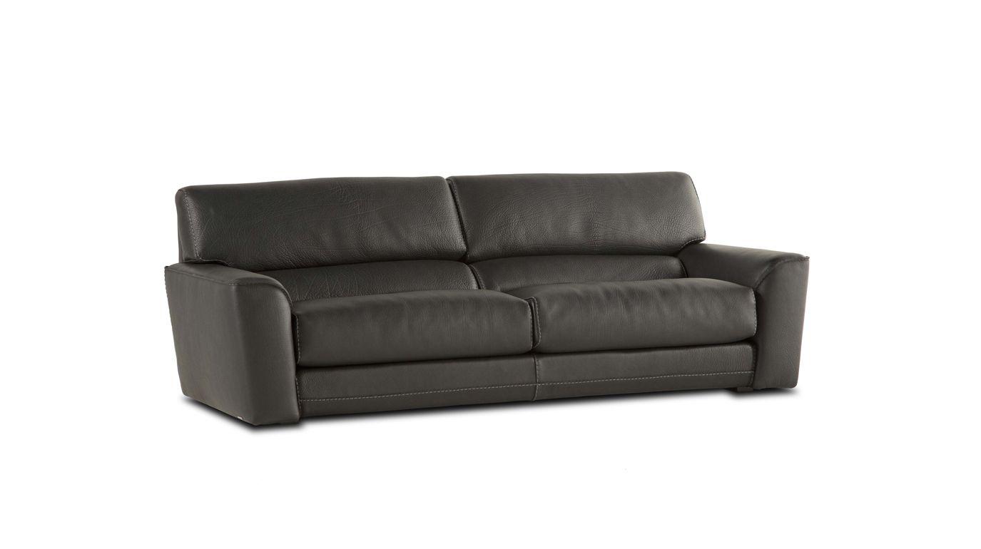 Agora large 3 seat sofa nouveaux classiques collection - Sofas de roche bobois ...