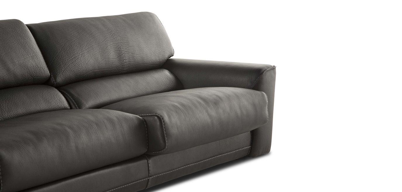 Agora large 3 seat sofa nouveaux classiques collection roche bobois - Sofa rock en bobois ...