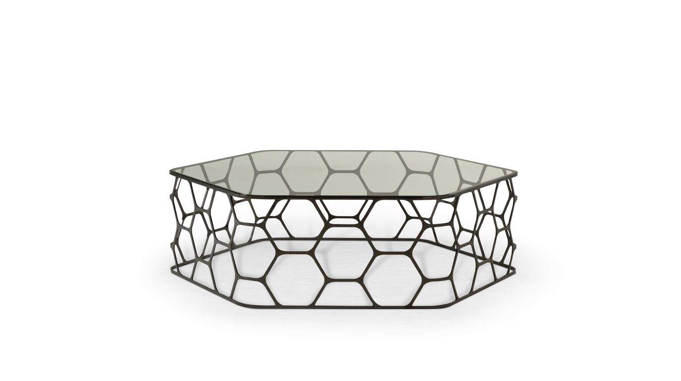 Pollen occasional table roche bobois - Table basse verre roche bobois ...
