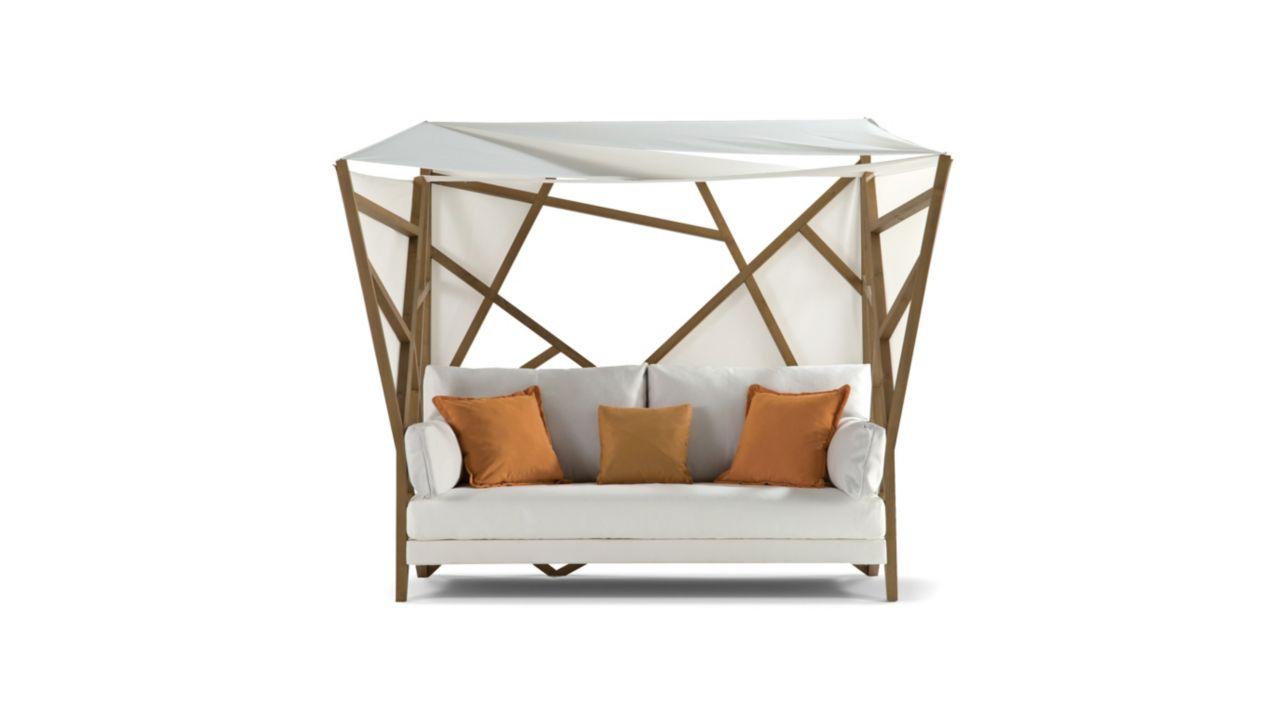 Saga armless sofa 2 seats roche bobois for Canape jean paul gaultier