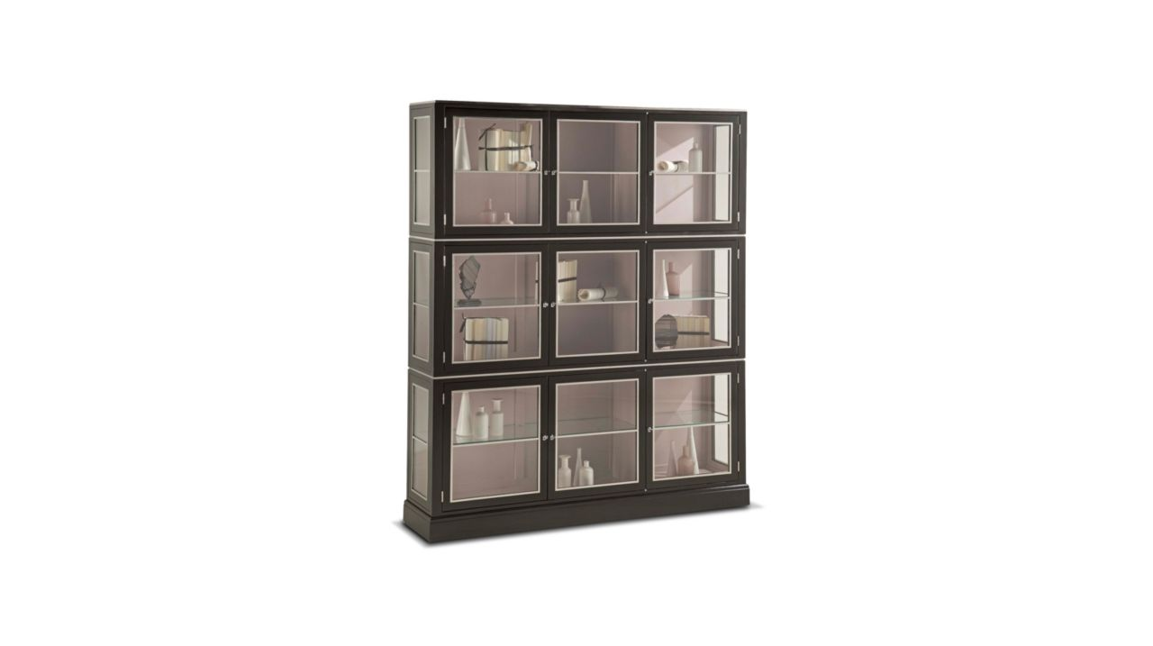 5 me avenue bookcase 3 elements nouveaux classiques collection roche bobois. Black Bedroom Furniture Sets. Home Design Ideas