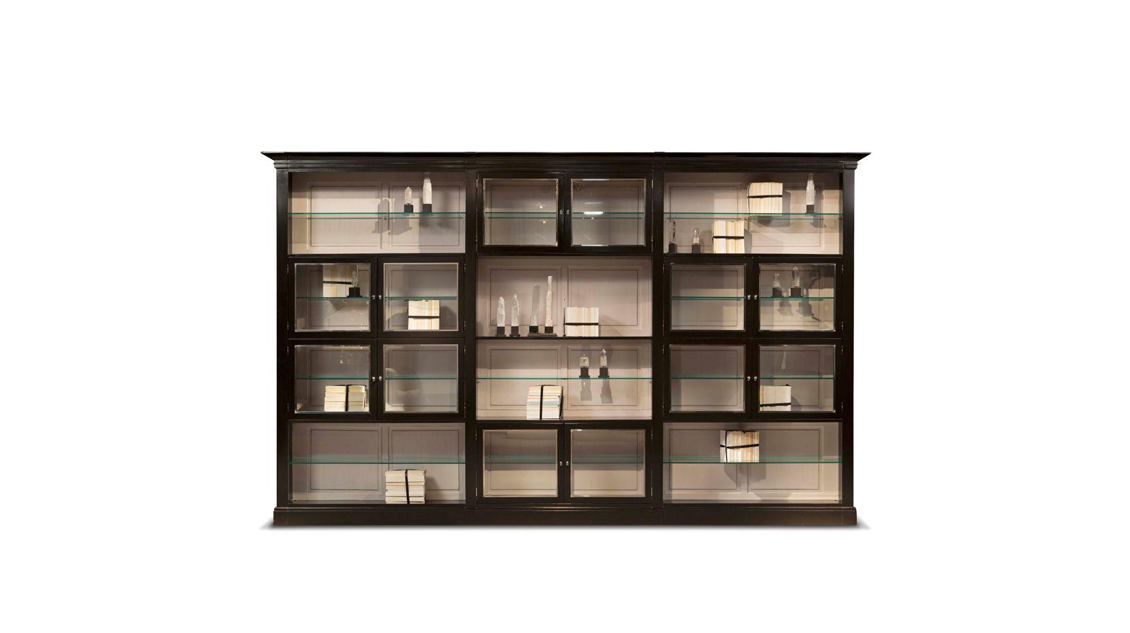 Libreria 3 elementi 5 me avenue collezione nouveaux for Libreria roche bobois
