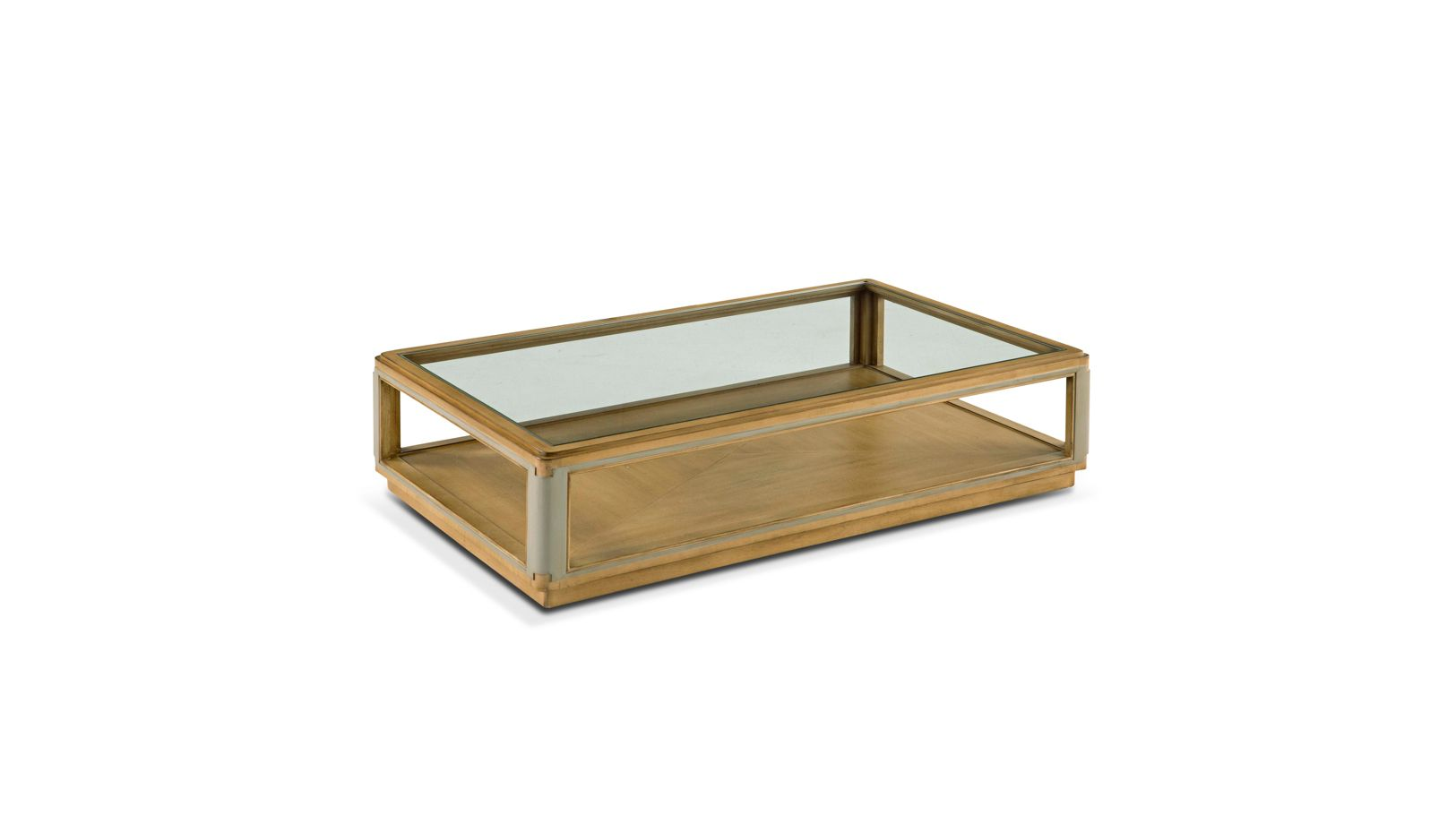 Table basse rectangulaire claridge collection nouveaux for Roche et bobois table basse