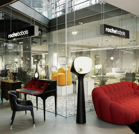 roche bobois showroom d sseldorf stilwerk 40212. Black Bedroom Furniture Sets. Home Design Ideas