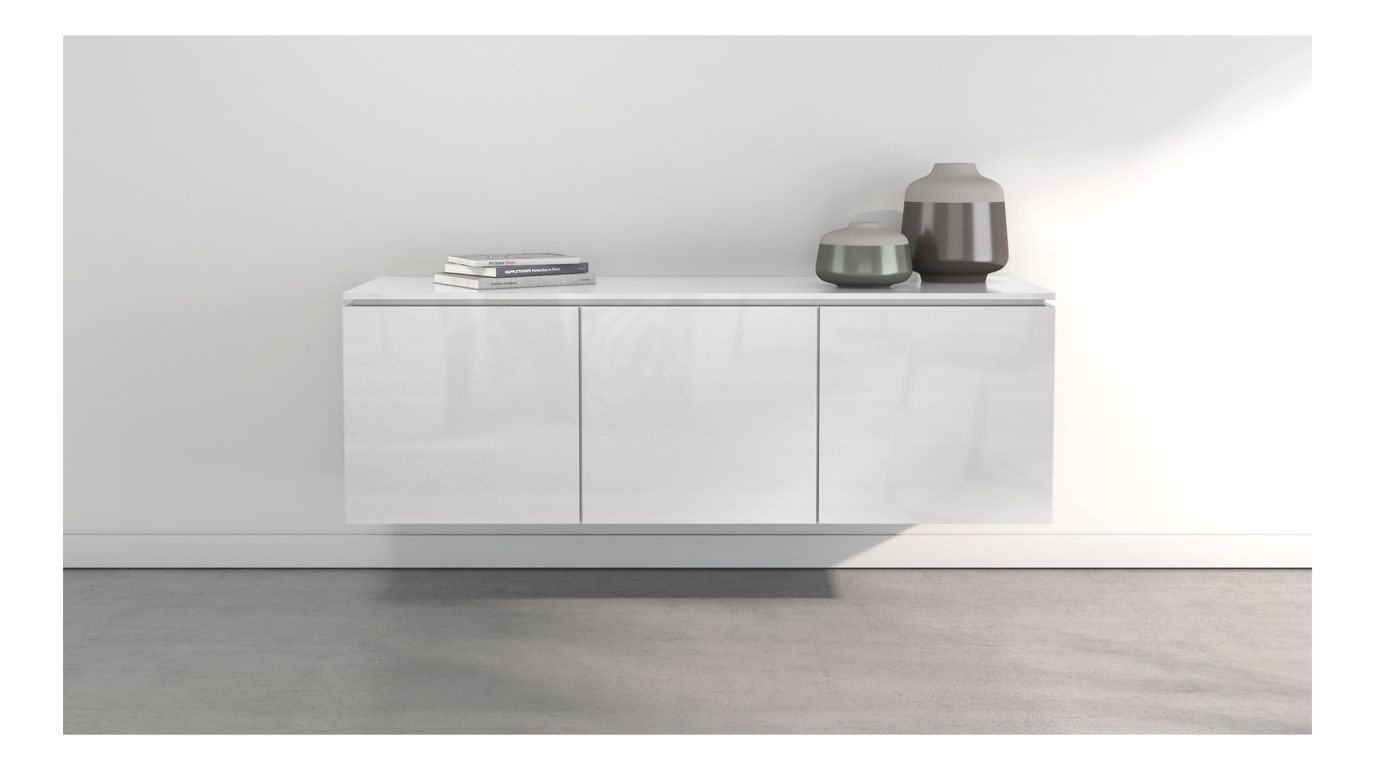 coda hanging sideboard roche bobois. Black Bedroom Furniture Sets. Home Design Ideas