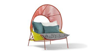 Traveler Outdoor Armchair With Hood Roche Bobois