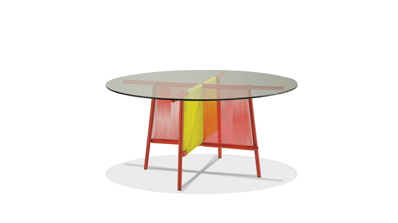 Traveler outdoor dining table roche bobois - Table ovale marbre roche bobois ...