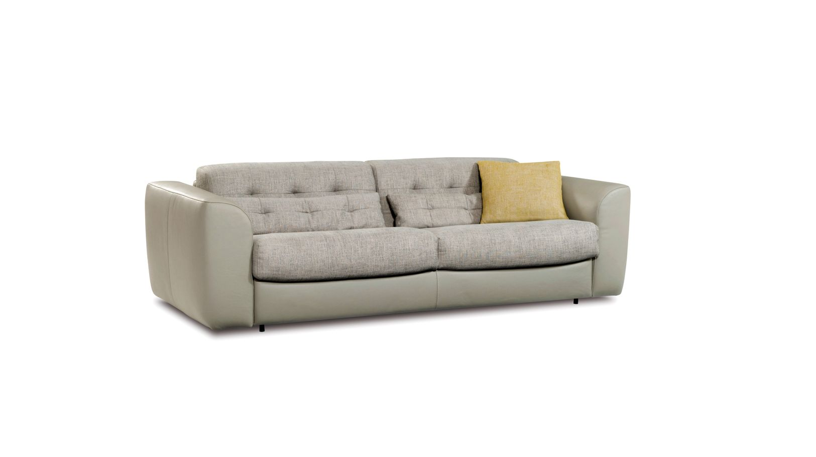 Grand canape convertible 3 places nocturnes roche bobois for Canape 5 place convertible