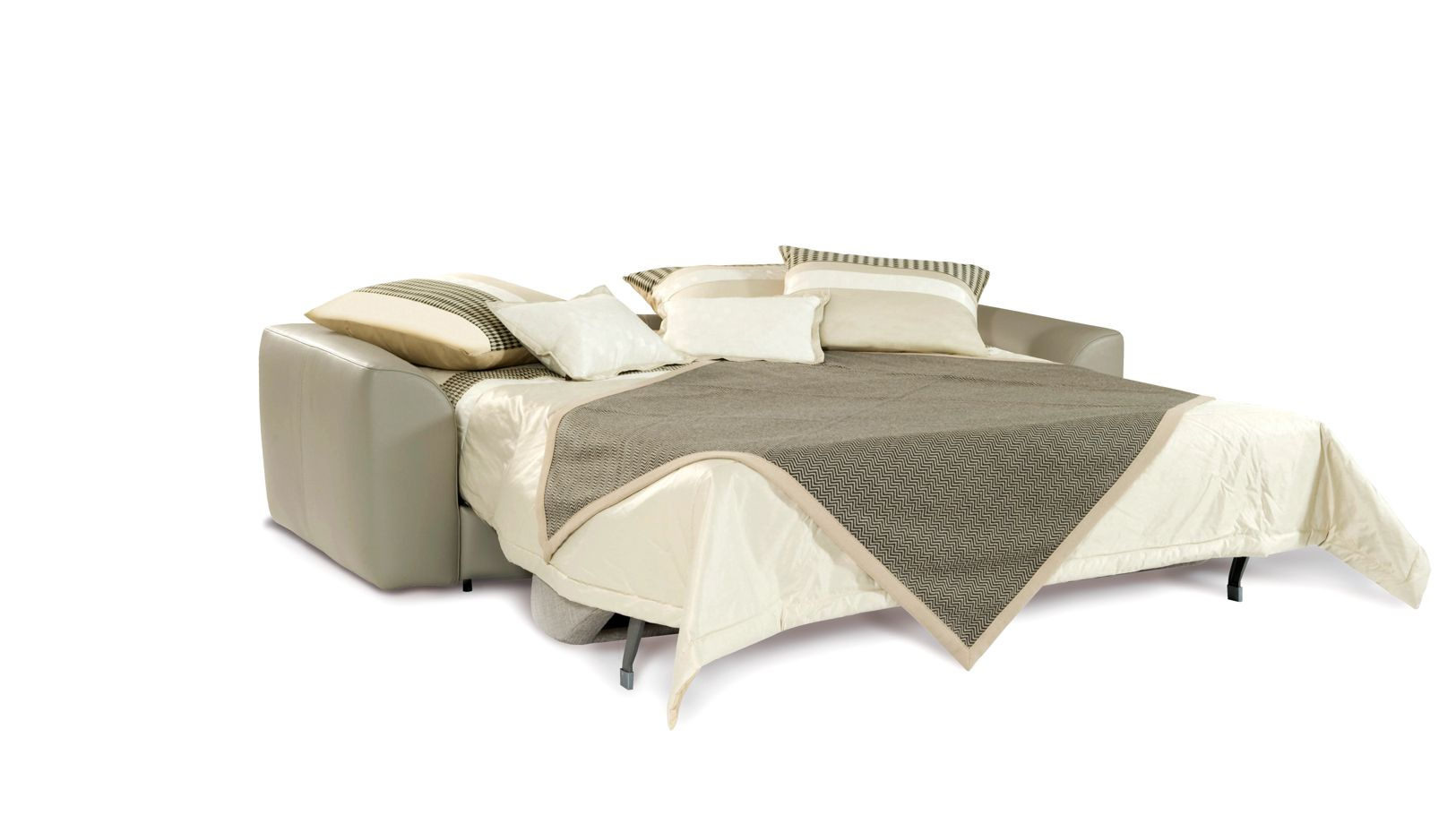 Grand canape convertible 3 places nocturnes roche bobois for Canape lit convertible roche bobois