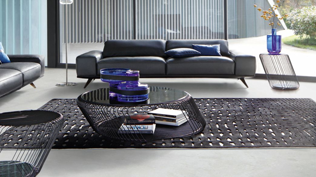 grand canap 3 places solale roche bobois. Black Bedroom Furniture Sets. Home Design Ideas