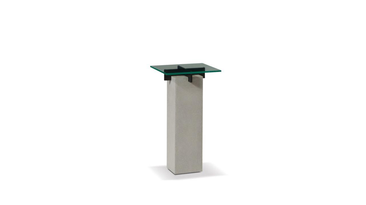 T n r pedestal table roche bobois - Table verre roche bobois ...