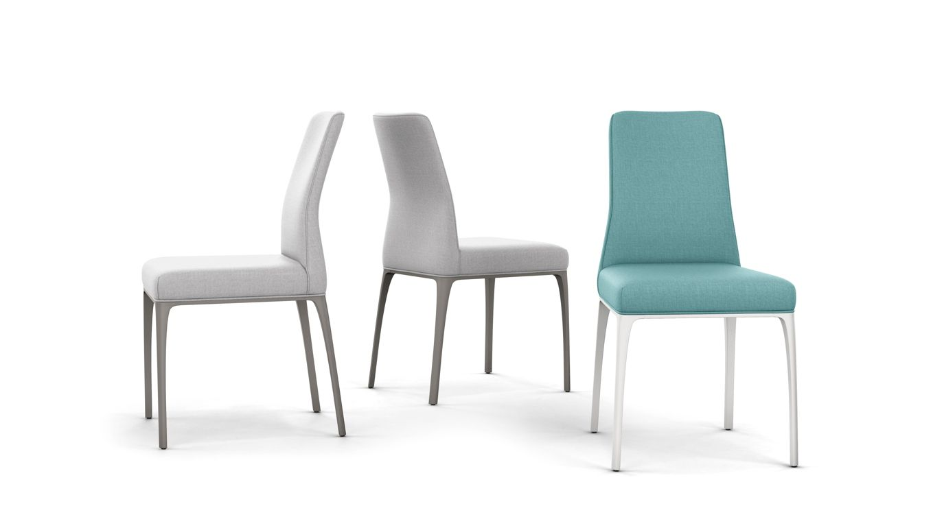Aida chair roche bobois for Chaise roche bobois