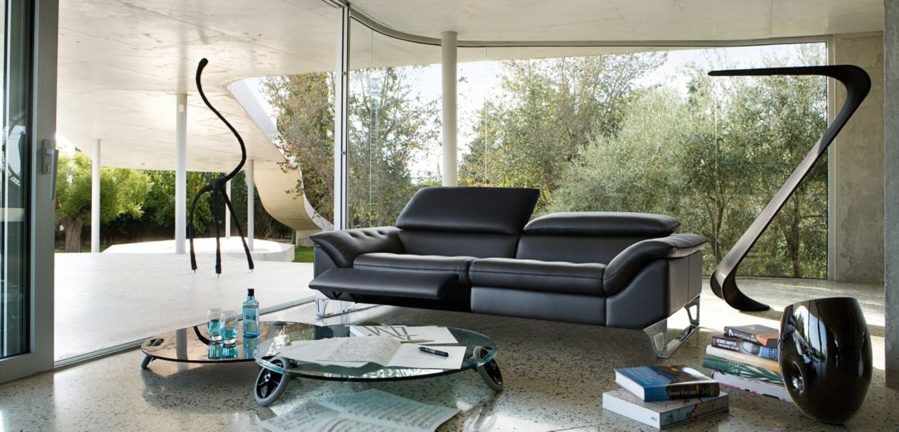 Cinetique grand canape 3 places roche bobois for Canape roche et bobois