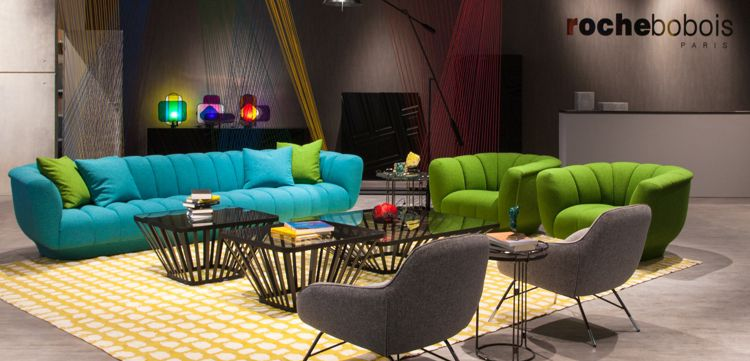 Salon international de milan 2016 roche bobois for Roche bobois milano
