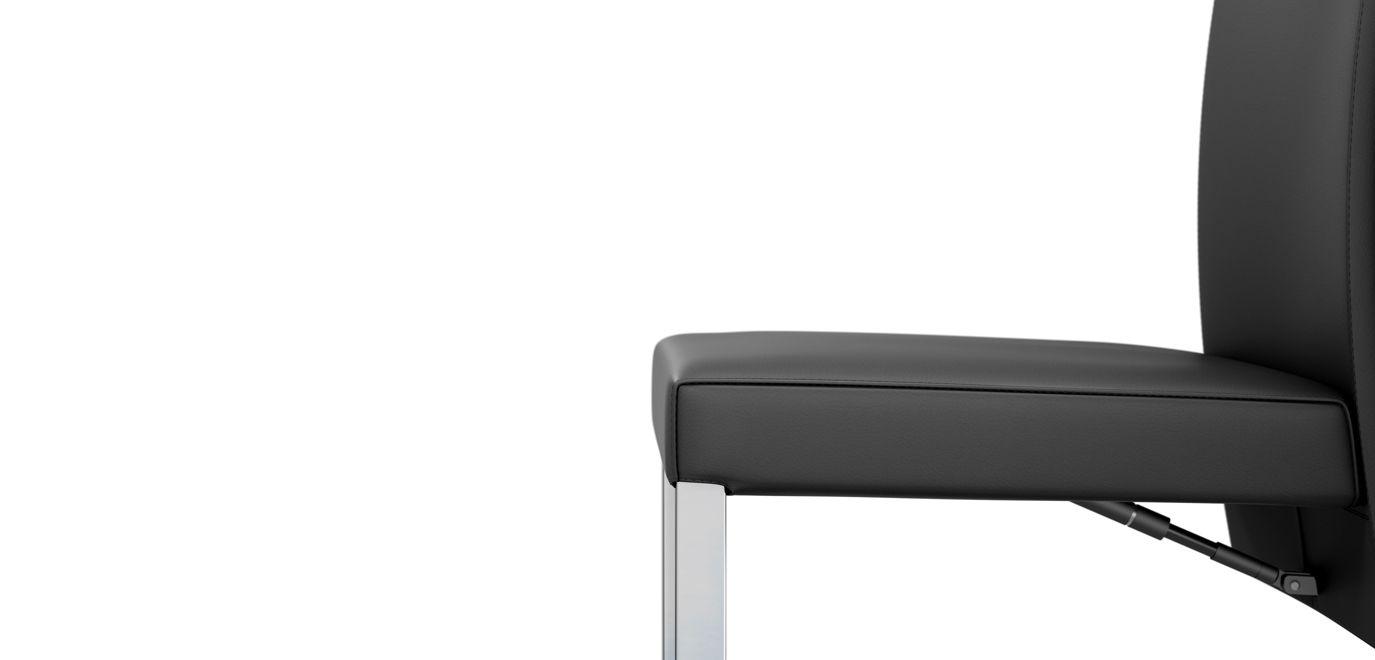 Chaise amplitude roche bobois for Chaise roche bobois cuir