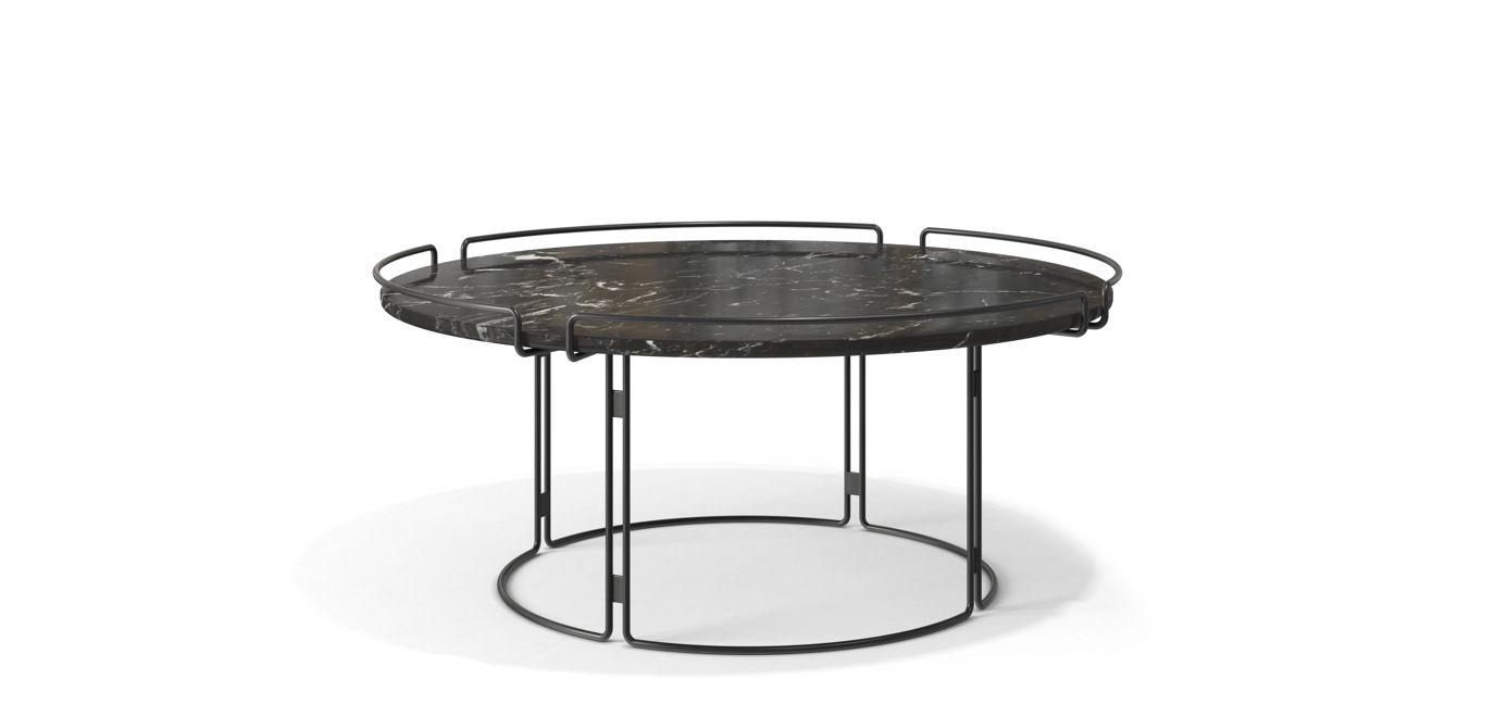 Mesa de centro bijou roche bobois for Table marbre roche bobois
