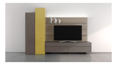 Globo Composition Tv 2015 10a Roche Bobois # Roche Bobois Meuble Tv Design