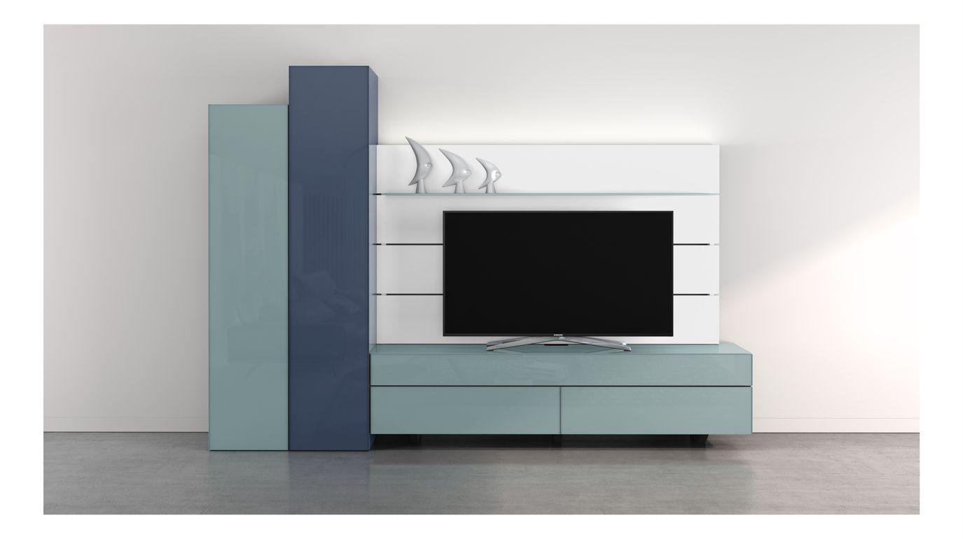 Meuble tv roche bobois meuble tv globo roche bobois - Meuble composable roche bobois ...