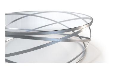 Table Basse En Inox intérieur evol table basse - roche bobois