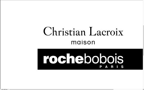 christian lacroix maison por roche bobois roche bobois. Black Bedroom Furniture Sets. Home Design Ideas