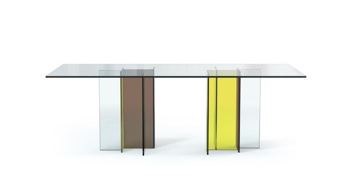 Diapo dining table roche bobois - Roche bobois table ...