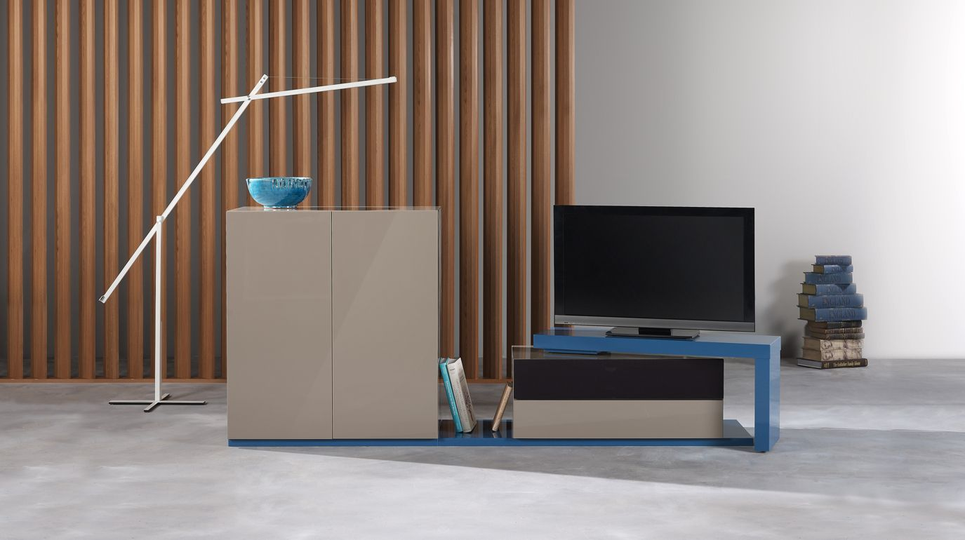 Contact composition tv roche bobois - Meuble tele design roche bobois ...