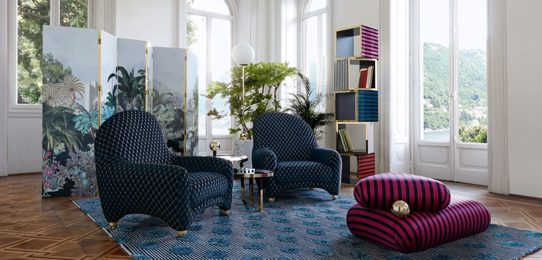 christian lacroix maison for roche bobois roche bobois. Black Bedroom Furniture Sets. Home Design Ideas