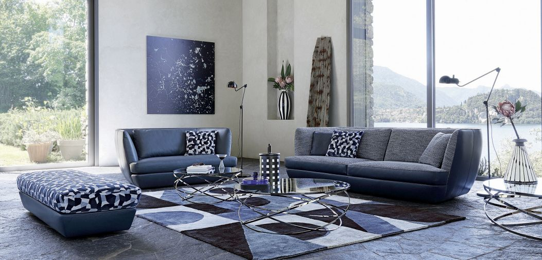 belize gro es 3 sitzer sofa roche bobois. Black Bedroom Furniture Sets. Home Design Ideas