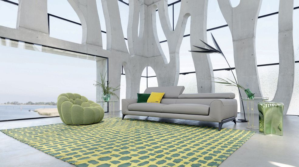 fauteuil pivotant bubble roche bobois. Black Bedroom Furniture Sets. Home Design Ideas