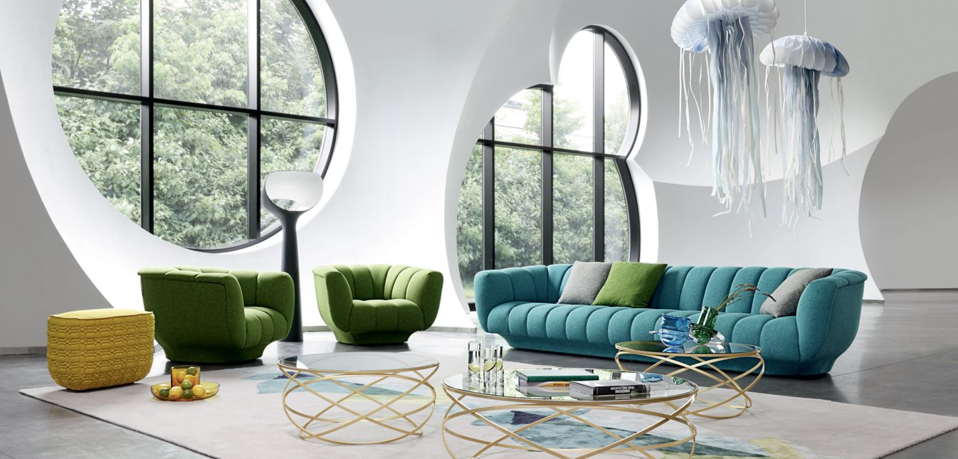Odea 4 seat sofa roche bobois - Table salle a manger roche bobois ...