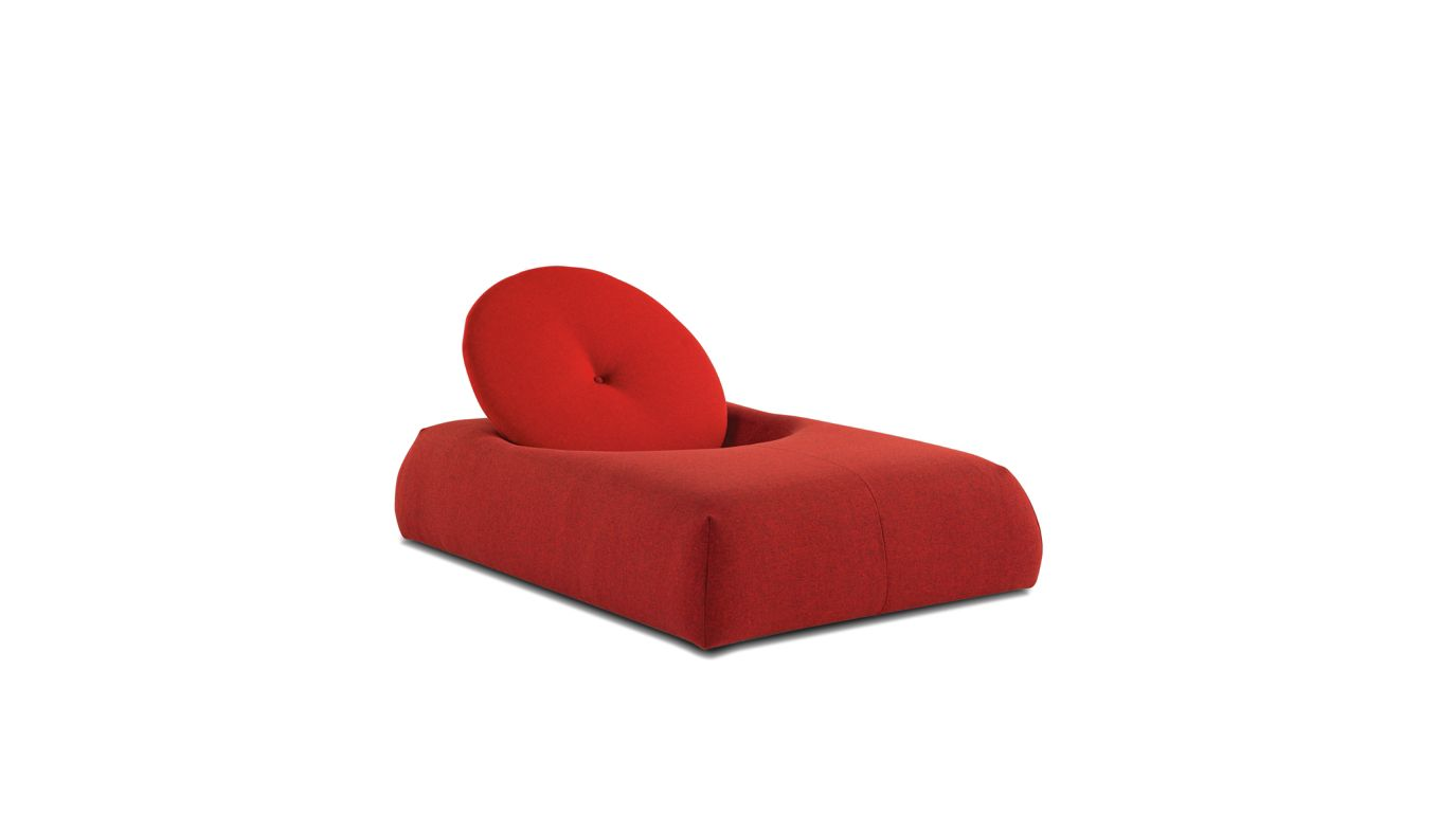 Chaise longue macaron roche bobois - Chaise rock bobois leer ...