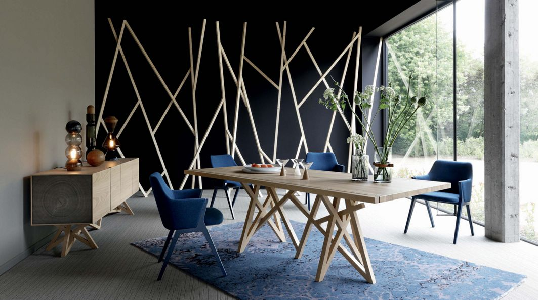 Saga 2 dining table roche bobois for Roche bobois table salle a manger