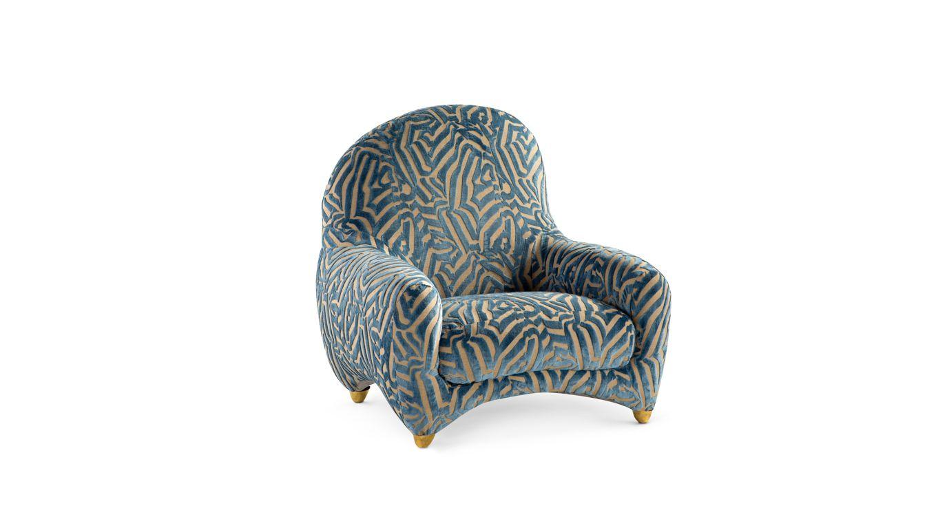 fauteuil maison lacroix collection nouveaux classiques roche bobois. Black Bedroom Furniture Sets. Home Design Ideas