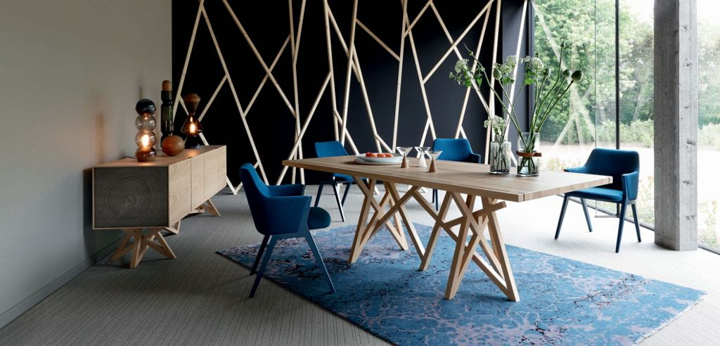 SAGA 2 DINING TABLE - Roche Bobois