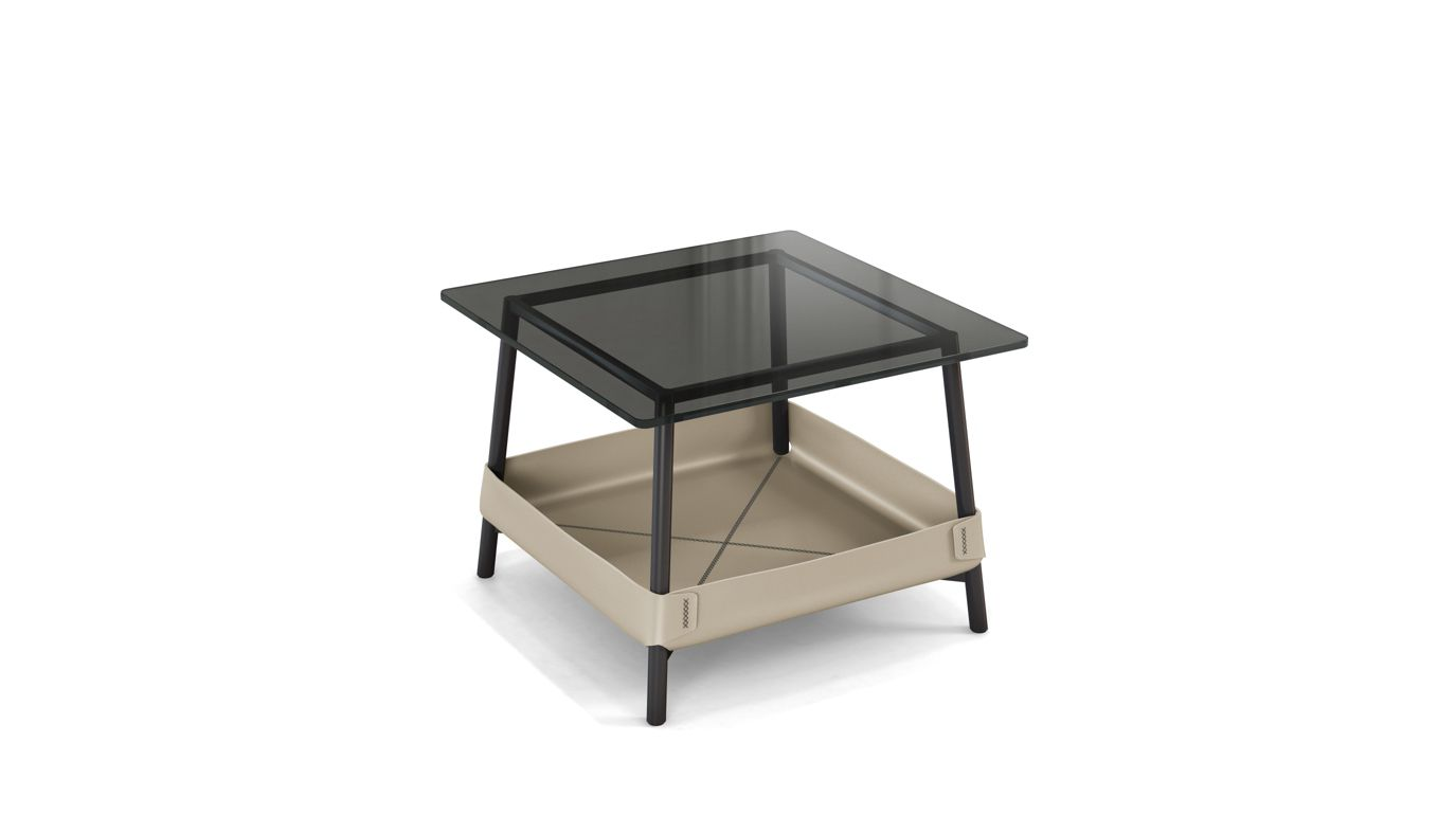 Basket end table roche bobois - Table ovale marbre roche bobois ...