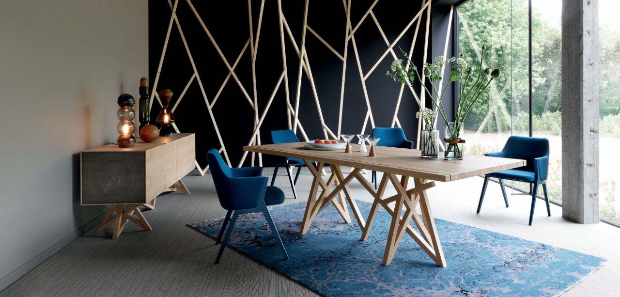 Saga 2 sideboard roche bobois - Table verre roche bobois ...