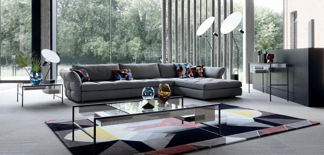 nonchalance corner composition roche bobois. Black Bedroom Furniture Sets. Home Design Ideas
