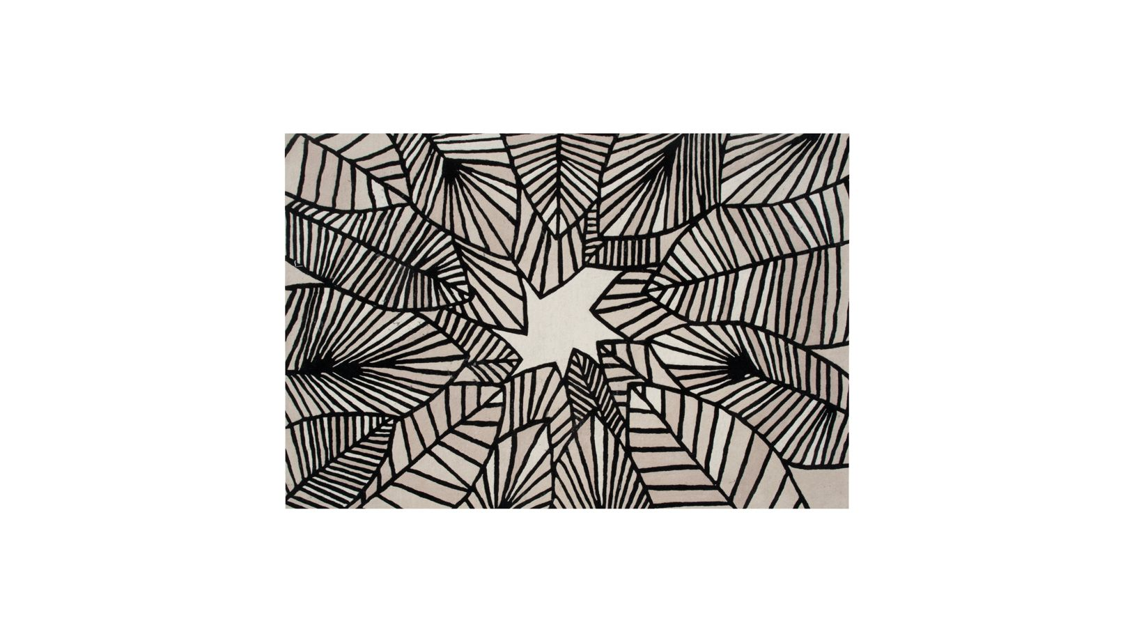 canope rectangle rug roche bobois. Black Bedroom Furniture Sets. Home Design Ideas