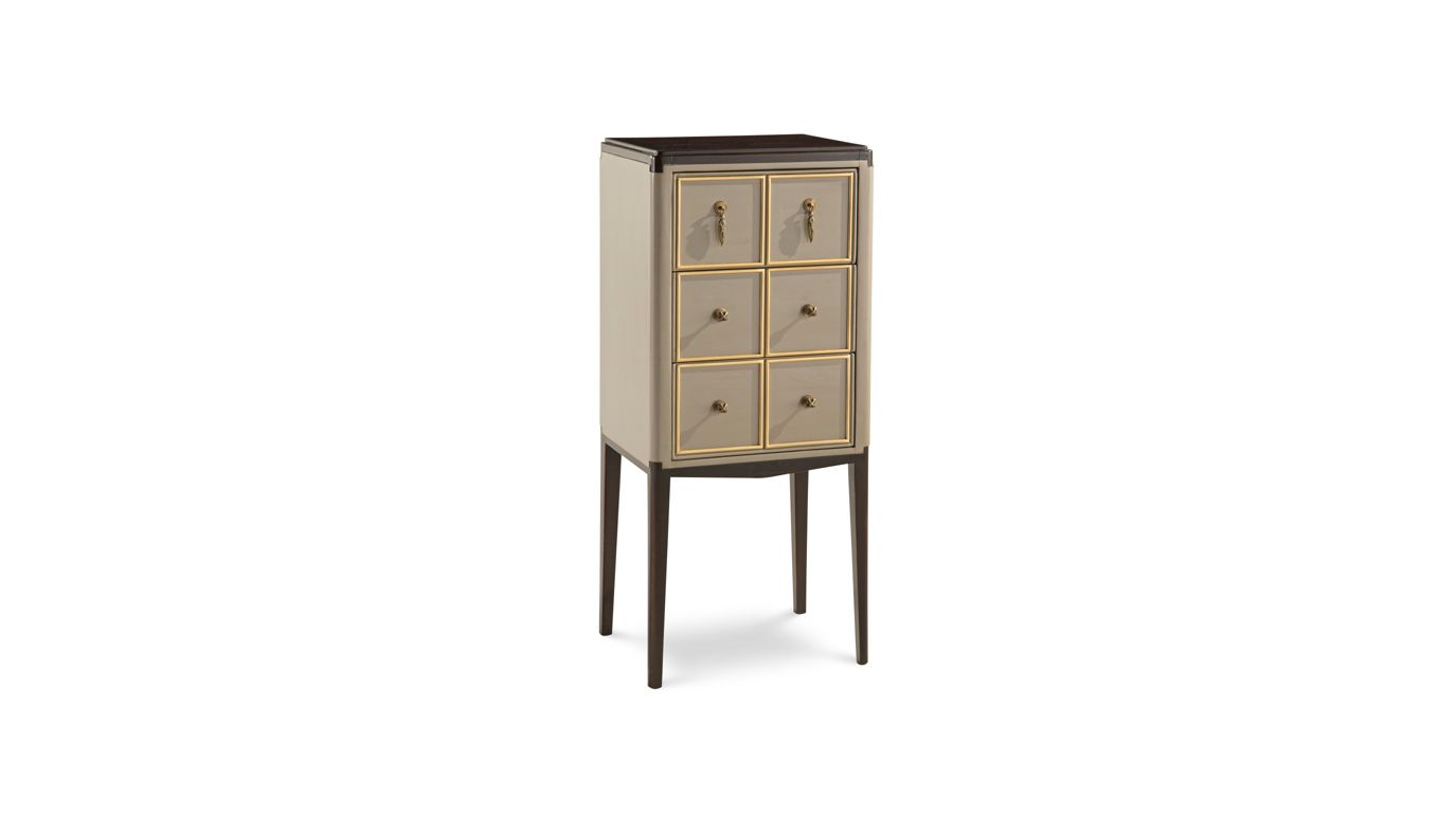 claridge meuble vide poches collection nouveaux classiques roche bobois. Black Bedroom Furniture Sets. Home Design Ideas