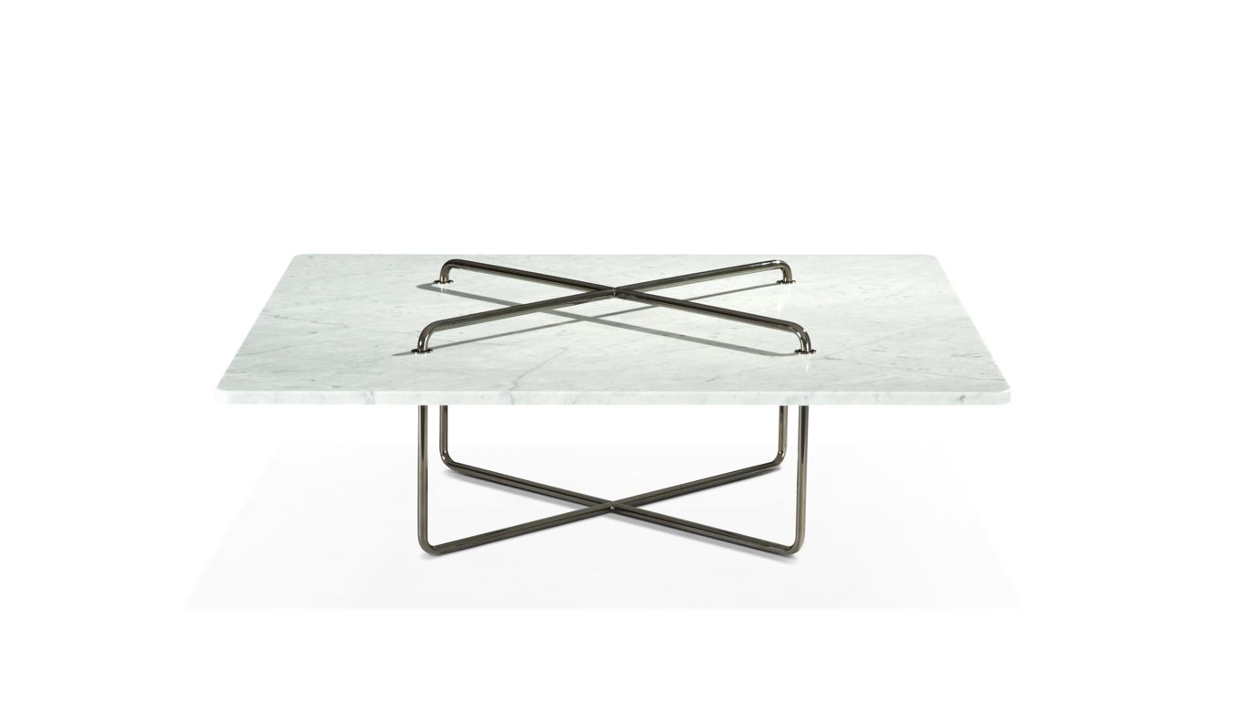 Button cocktail table roche bobois - Table ovale marbre roche bobois ...