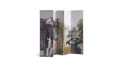 MAISON LACROIX Grand Paravent (Collection Nouveaux Classiques)   Roche  Bobois
