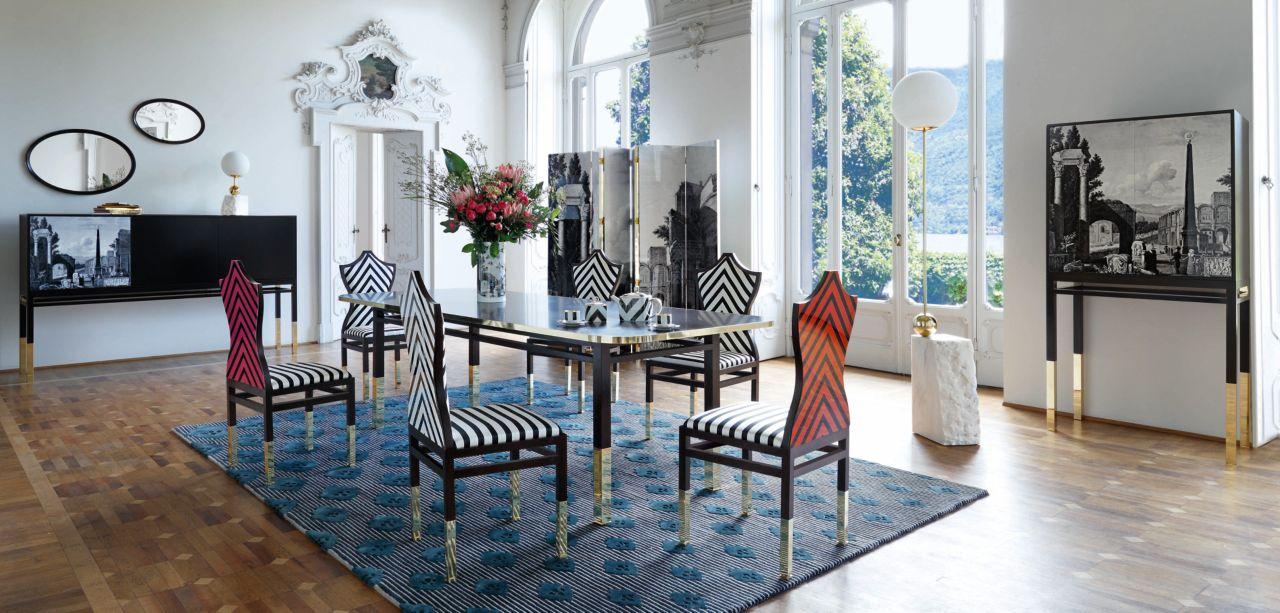 christian lacroix maison pour roche bobois roche bobois. Black Bedroom Furniture Sets. Home Design Ideas
